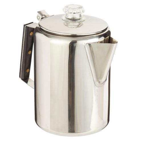 Woods™  Stainless Steel Coffee Percolator, 9-Cup
