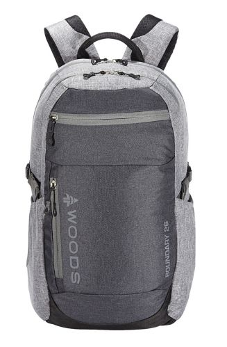 Woods™ Boundary Lightweight Packable Camping Backpack, Grey, 26-L Product image