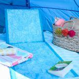 Chaises longues de camping, paq. 2