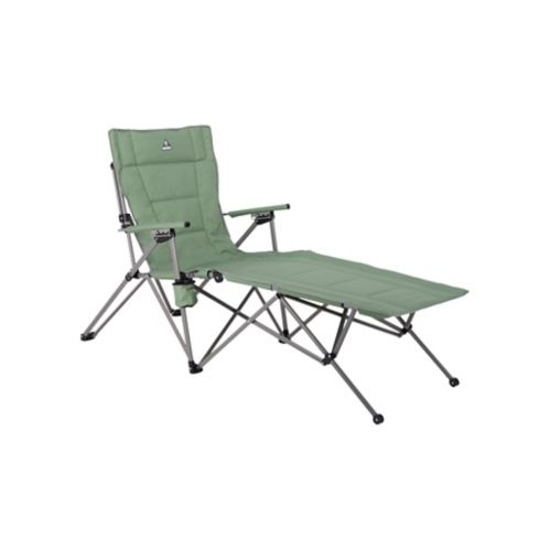 Woods™ Ashcroft 3-Position Reclining Camping Lounger Chair, Sea Spray Product image