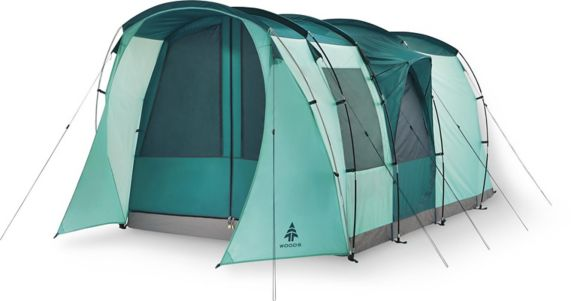 Woods™ Refuge 6-Person 3-Season Quick-Set-Up Tent, Green Product image