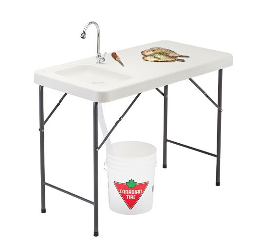 Folding Fish And Game Cleaning Table Canadian Tire