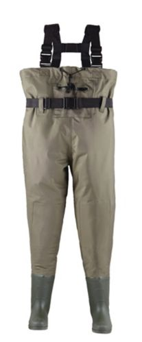 Outbound Waterproof PVC Chest Waders, Men's