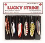 Lucky Strike Spoon Lure Kit, 6-pk   Lucky Strike   Canadian Tire
