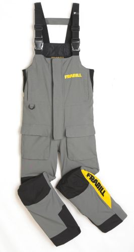 Frabill Jacket and Bib Ice Suit, Grey