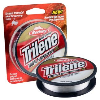 11,3 kg Berkley Trilene Fluorocarbon Line-Transparent 0,48 mm