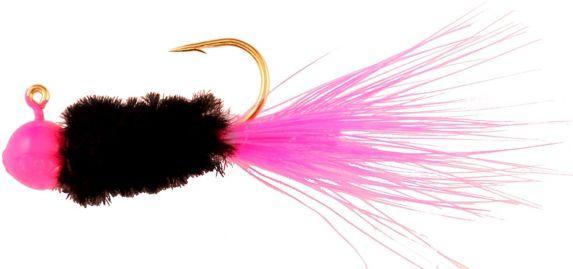 Blakemore Mr. Crappie Slab Daddy Finesse Jig, Pink, 1/16-oz