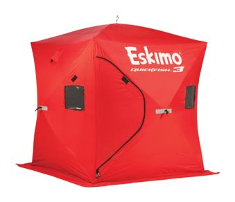 Eskimo Quickfish 3 Pop-Up Ice Shelter, 3-person | Canadian Tire