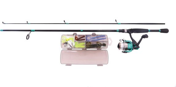 Red Wolf Bass Spinning Combo