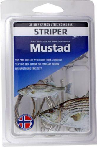 Mustad Striper Hook Kit, 35-pc