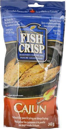 Fish Crisp Coating Mix, Cajun