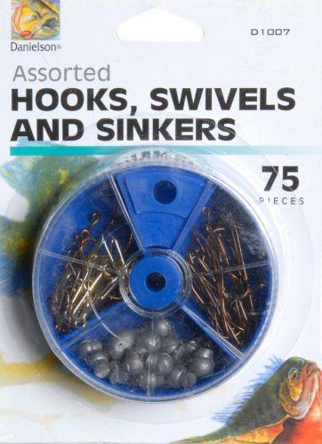 Assorted Hooks and Swivels