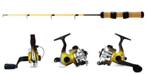 Frabill Ice Fishing Rod & Reel Combo
