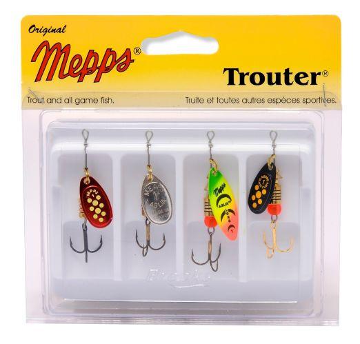 Mepps Trouter Kit, Plain Lure