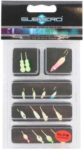 Sub Zero Ice Fishing Lure Kit
