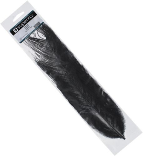 Crystal River Ostrich Feathers, Black