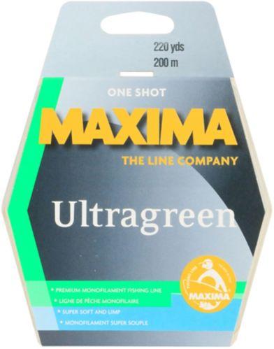 Ligne de pêche Maxima One Shot Ultragreen