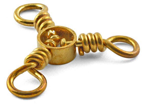 South Bend Brass 3-way Swivel