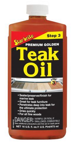 Star brite Premium Teak Oil, 473-mL