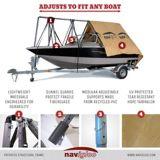 Abri d'hiver Navigloo pour bateau, 14 à 18 1/2 pi | Navigloo | Canadian Tire