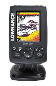 Lowrance Depth Finder >> Lowrance Elite 3x Fish Finder