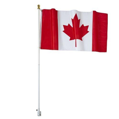 Flag Pole Kit with Canadian Flag