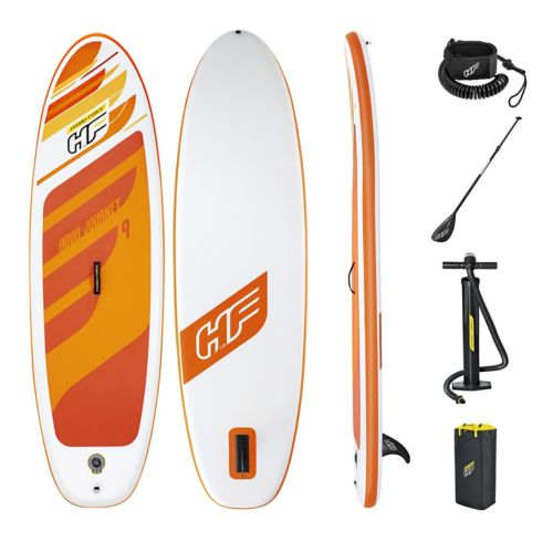 Hydro-Force Aqua Journey Inflatable Stand Up Paddle Board, 9-ft