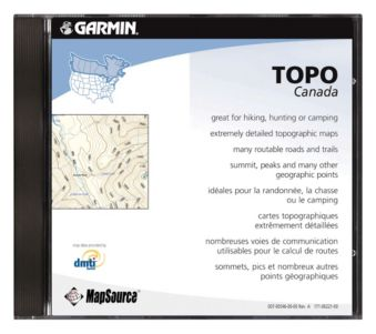 CD Handheld GPS Canadian Topographical