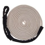 Mooring Boat Line with Chafe Guard, White, 1/2-in x 20-ft | Bluelinenull
