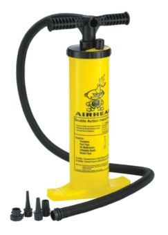 Double-Action Air Pump for Inflatables