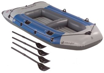 Colossus Inflatable Boat, 4 person