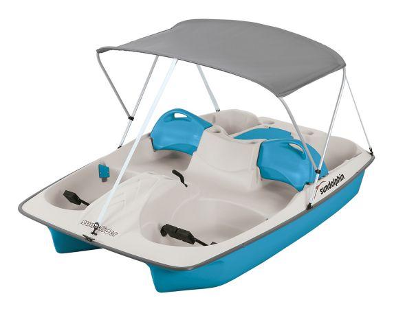 Sun Dolphin Pedal Boat, 5-Seat