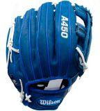 Wilson A450 Baseball Glove, Blue, Regular, 12-in   Wilson   Canadian Tire