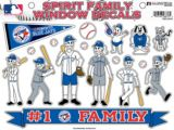 Toronto Blue Jays Family Window Decals, 12-pc | MLBnull
