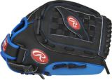 Rawlings Playmaker Series Baseball Glove, Black/Blue,12.5-in | Rawlings | Canadian Tire