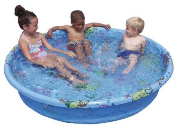 Decorated Pool, 5-ft x 11-in Product image