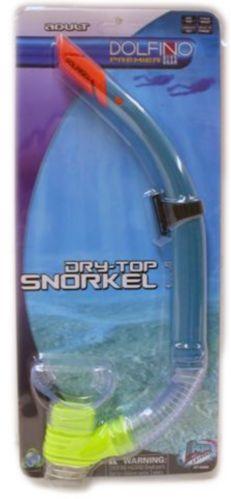 Adult Dry Top Snorkel
