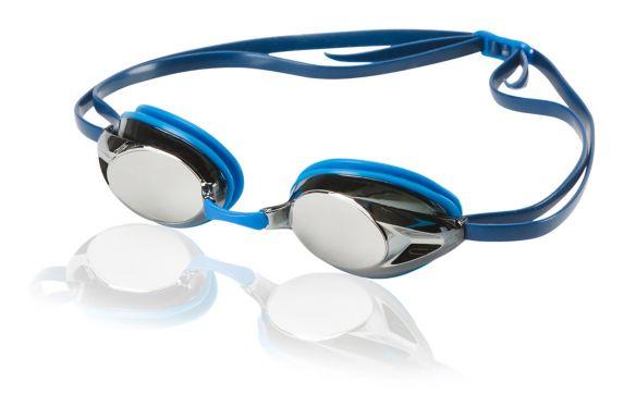 Speedo Recordbreaker Mirrored Swim Goggles, Adult