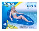 Aqua Reclining Pool Lounger   Aquanull