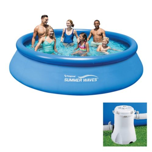 Piscine Summer Waves 12 Pi X 30 Po Canadian Tire