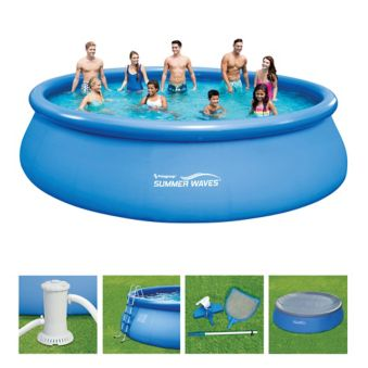 Piscine Summer Waves 18 Pi X 48 Po Canadian Tire
