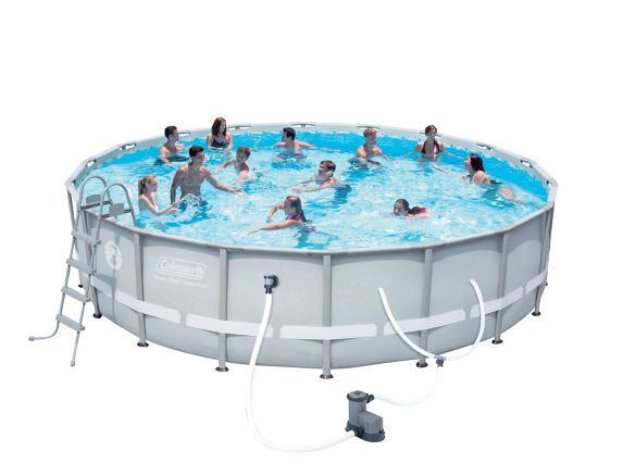 Coleman Frame Pool, 18-ft x 48-in