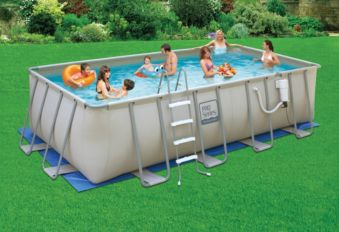 Pro Series Rectangular Pool 18 Ft X 9 Ft X 52 In Canadian Tire