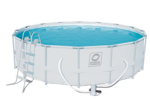 Hydro Force Steel Pro Frame Pool Set 16 Ft X 48 In Canadian Tire