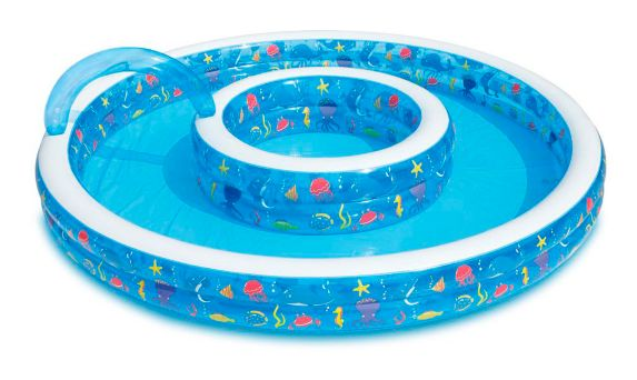 Piscine Gonflable A Fontaine Summer Waves 110 Po Canadian Tire