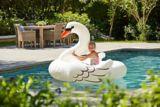Jumbo Ride On Inflatable Pool Swan   Summer Waves   Canadian Tire