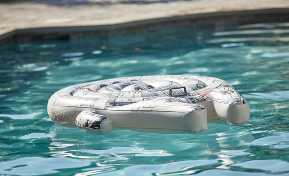 Millennium Falcon Inflatable Ride On Pool Lounger