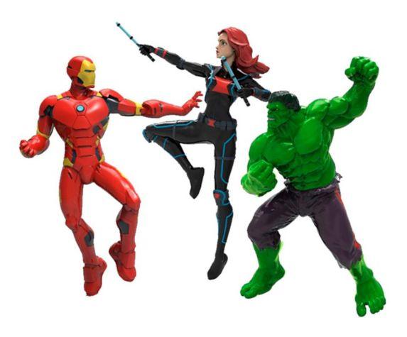 Marvel Avengers Dive Characters, 3-pk