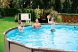 Poolside Steel Frame Basketball Net