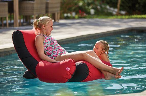 Outbound Relax Pool Lounger, 41 x 47-in